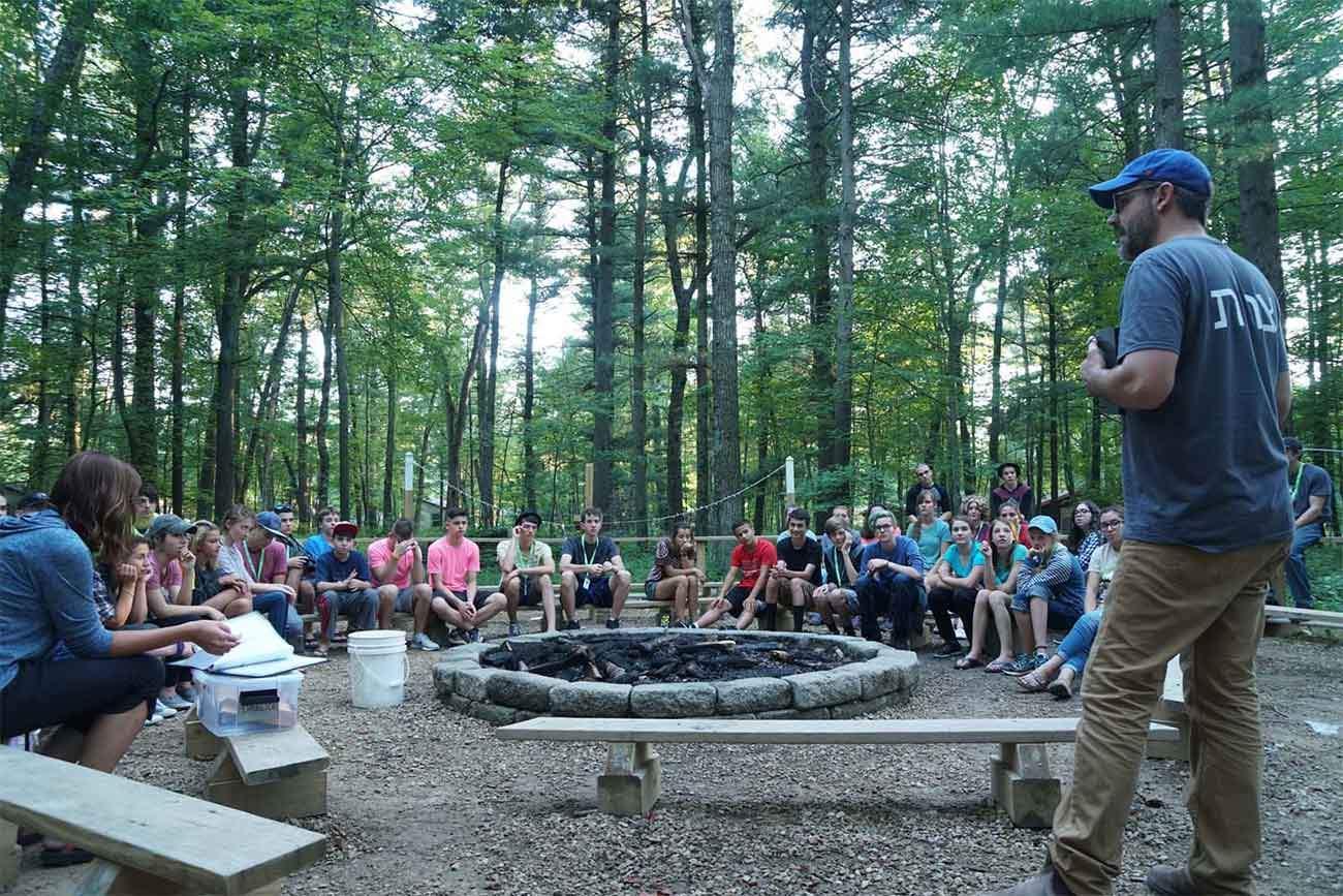 12-21 campers at Camp Tzadi, 2017.