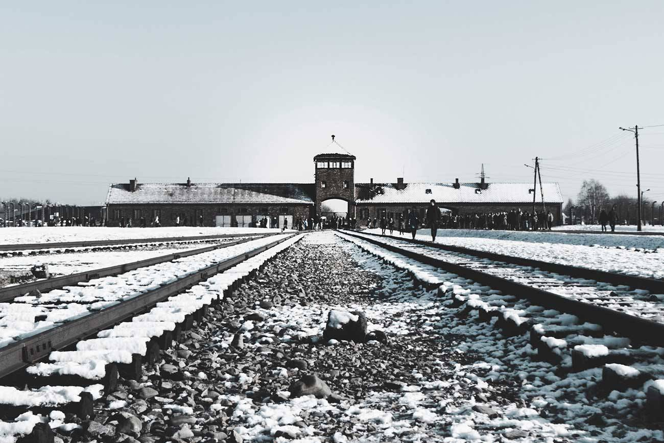 Inside Auschwitz concentration camp (Photo by Erica Magugliani on Unsplash)