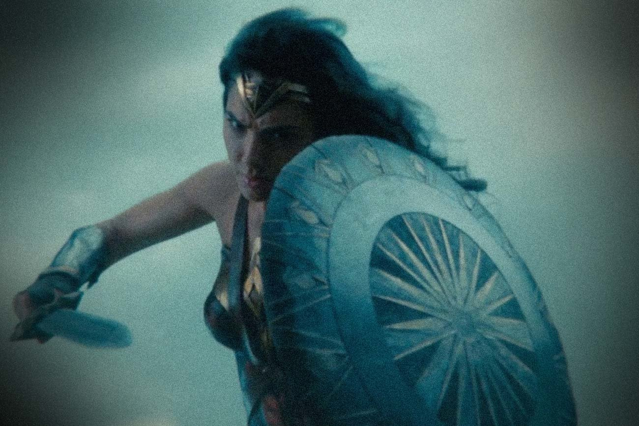 Israeli actress Gal Gadot in a scene from Wonder Woman (Image: Trailer screenshot)
